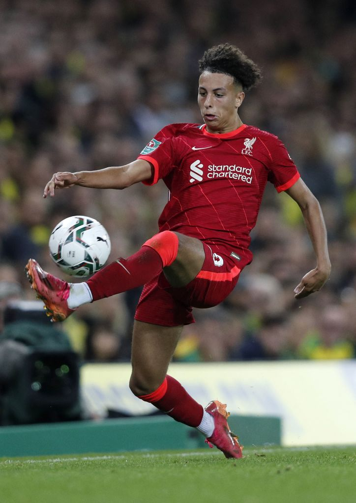 Liverpool fans have reacted to Kaide Gordon v Norwich City