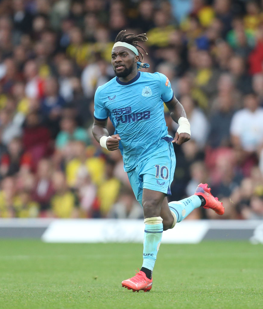 Liverpool want to sign Newcastle United's Allan Saint-Maximin
