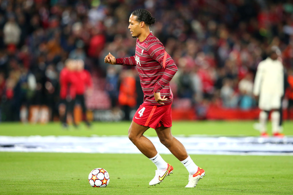 We would have Van Dijk as the best Liverpool player in FIFA 22
