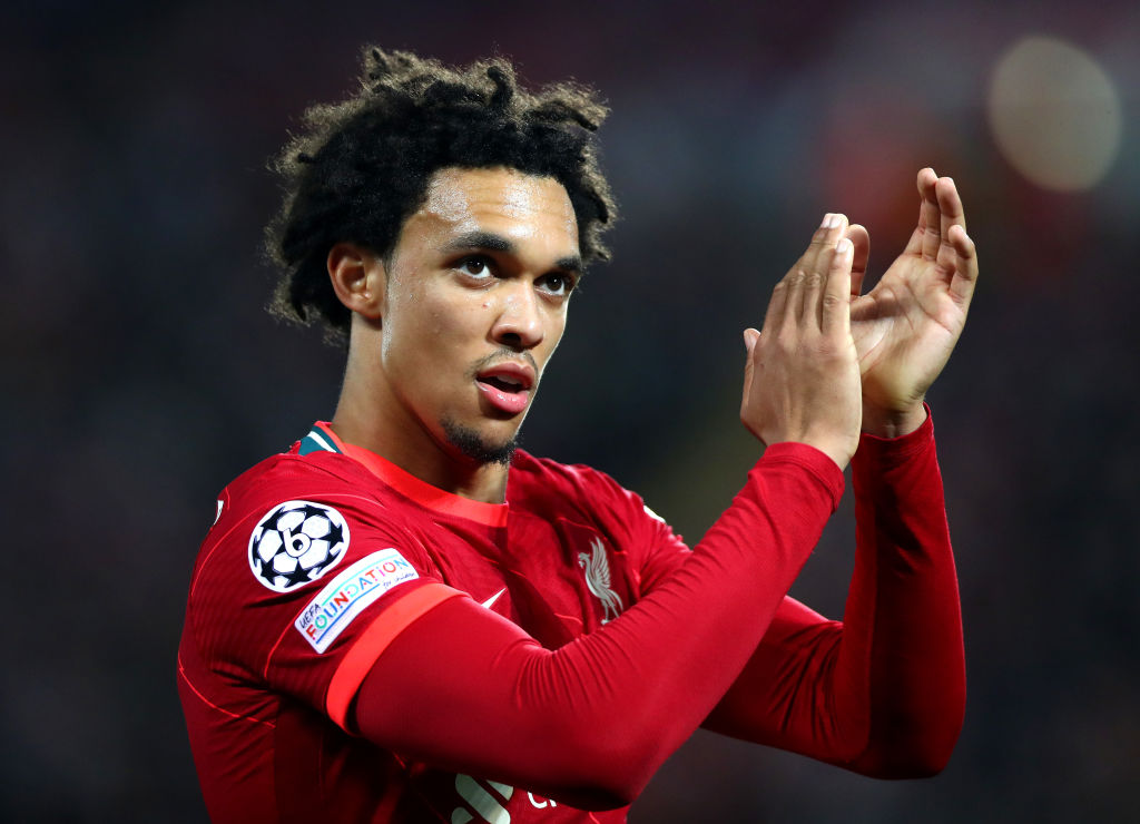Liverpool fans have reacted defiantly to rumours of Real Madrid interest in Trent Alexander-Arnold