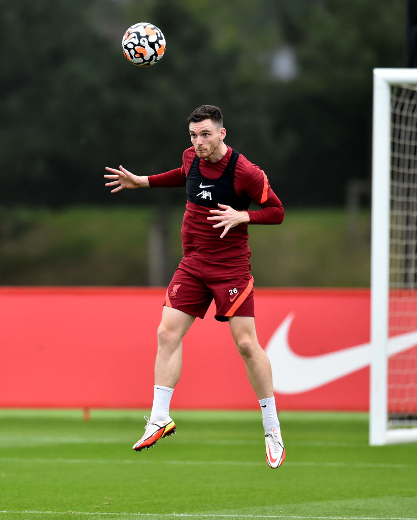 Andy Robertson to be dropped for Kostas Tsimikas for a while