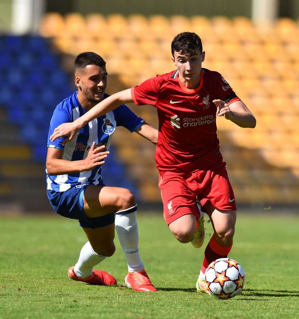 Liverpool fans were wowed by Mateusz Musialowski v Porto