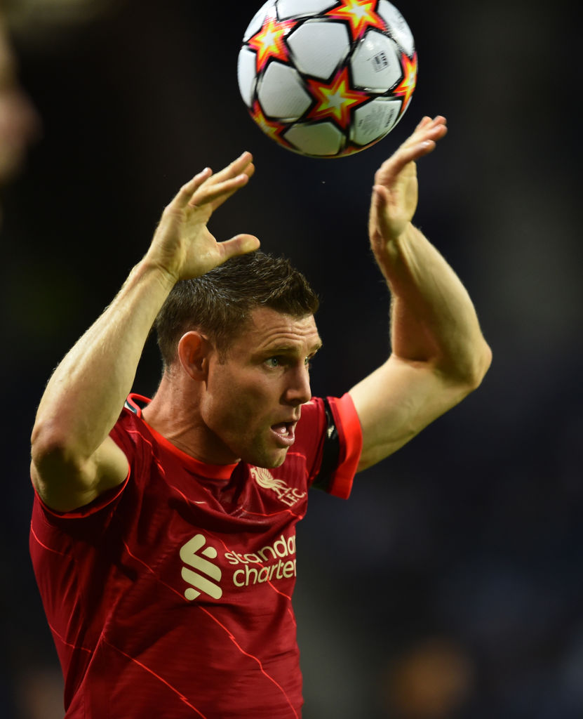 James Milner outstrips Messi and Ronaldo in Champions League assists